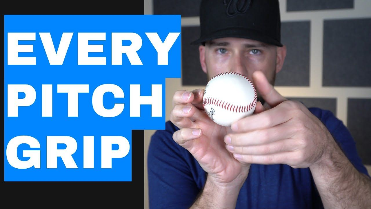Pitch Grips How To Throw A Curveball Slider Changeup Sinker Cutter Pitching Drills Baseball Videos Pitch