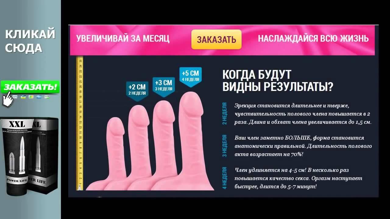 Как увеличить толщину полового члена в диаметре и