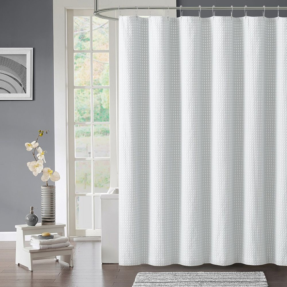 Vcny surf piece shower curtain set grey products pinterest