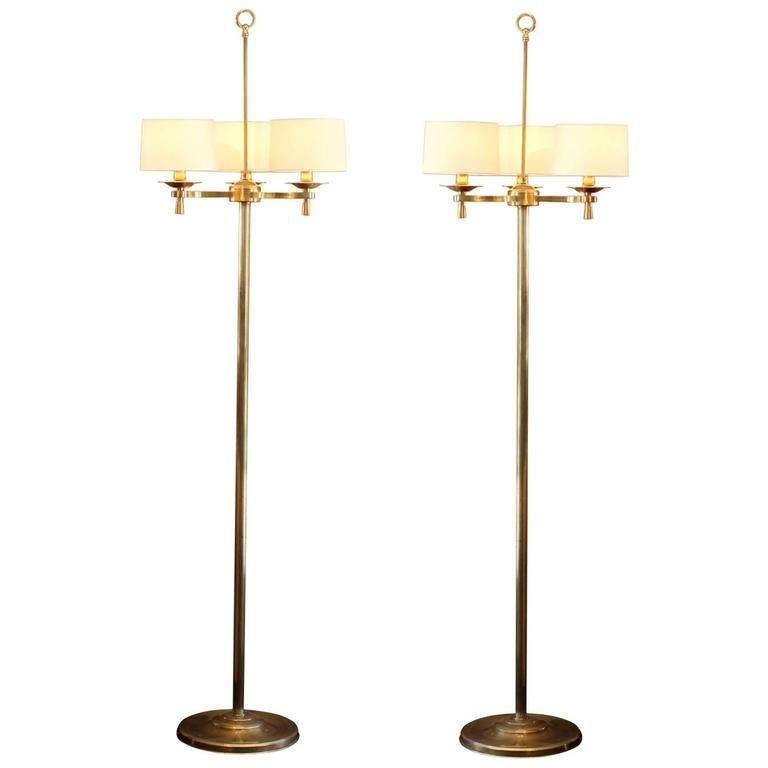 Art Deco Floor Lamp Endearing Prince De Galles Paris Circa 1940 Art Deco Floor Lamps  Floor Inspiration Design