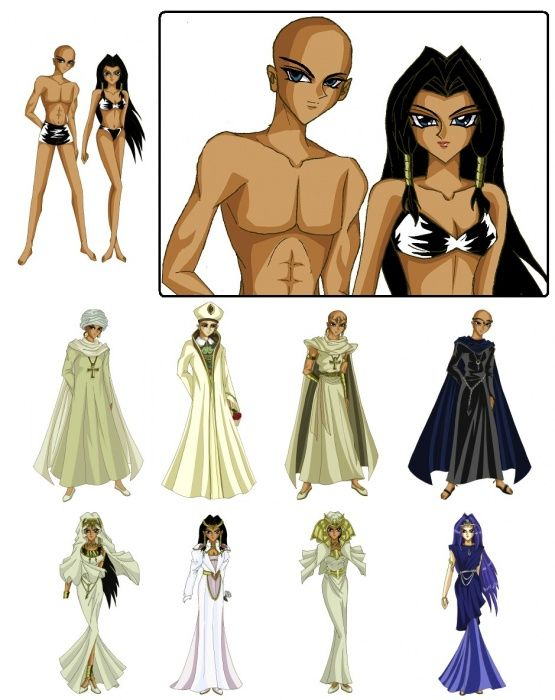 Shadi_x_Ishizu_Paper_Dolls_by_SetsunaKou* 1500 free paper dolls at artist Arielle Gabriel's International Paper Doll Society also her new memoir The Goddess of Mercy & the Dept of Miracles playing with paper dolls in Montreal *