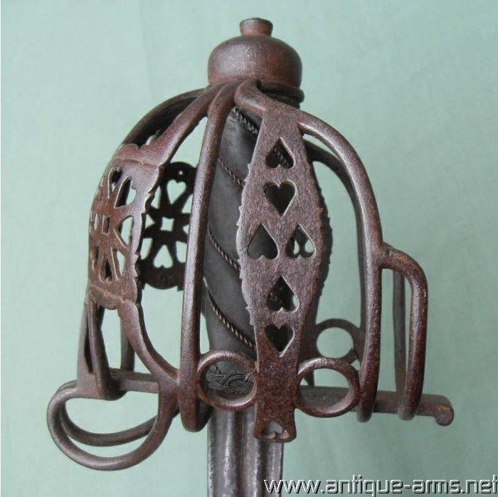 Scottish 18th century Basket Hilt Sword