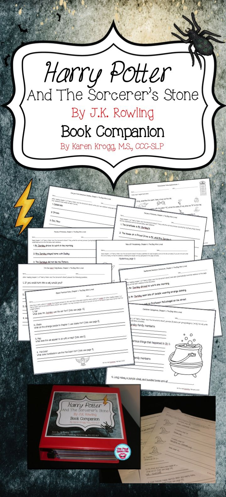 Free word study list for Harry Potter and the Sorcerer's Stone ...
