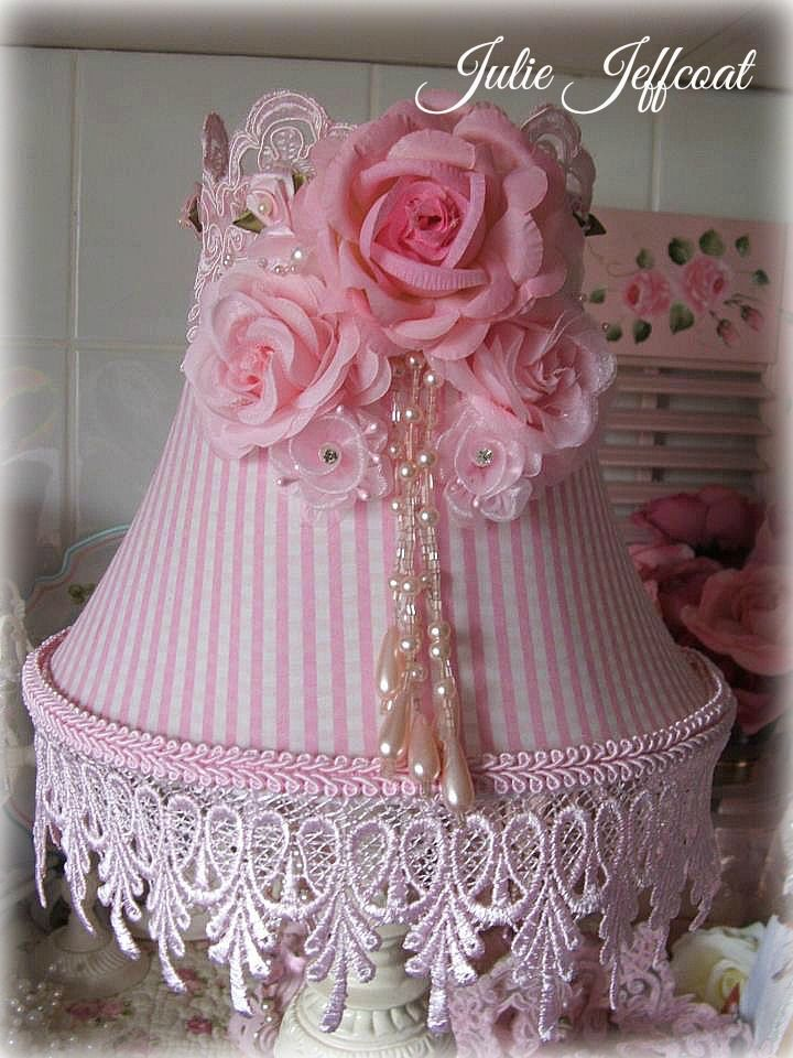 Gingham pink lampshade i decorated shabby chic design 7 gingham pink lampshade i decorated aloadofball Images