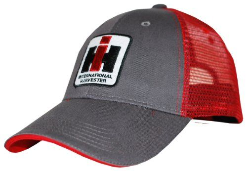 Amazon Price Tracking And History For Case Ih Trucker Hat Cap In Charcoal And Red B009qt0o34