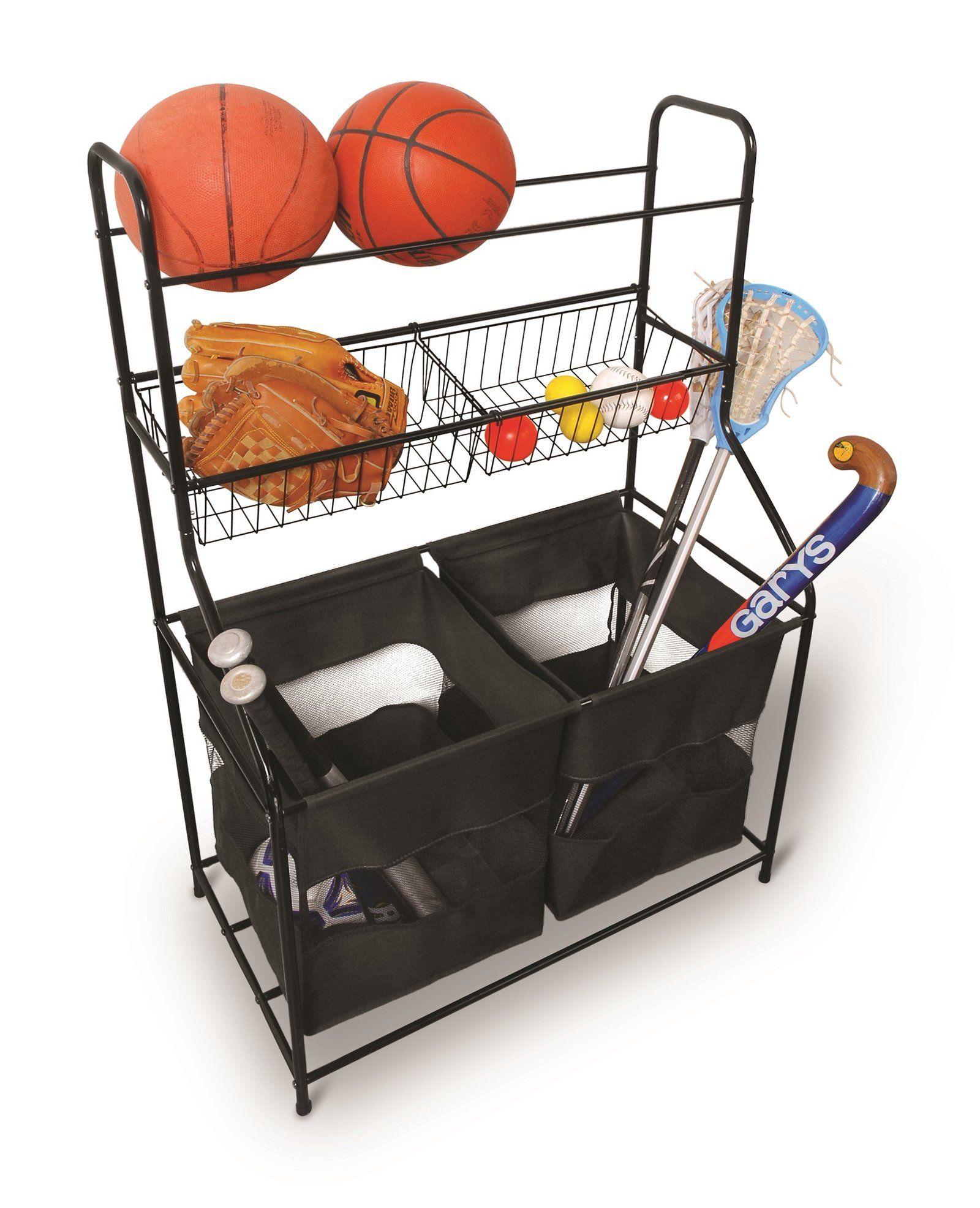 Garage Sports Organizer: Sterling Storage Organizer Freestanding Sports Rack