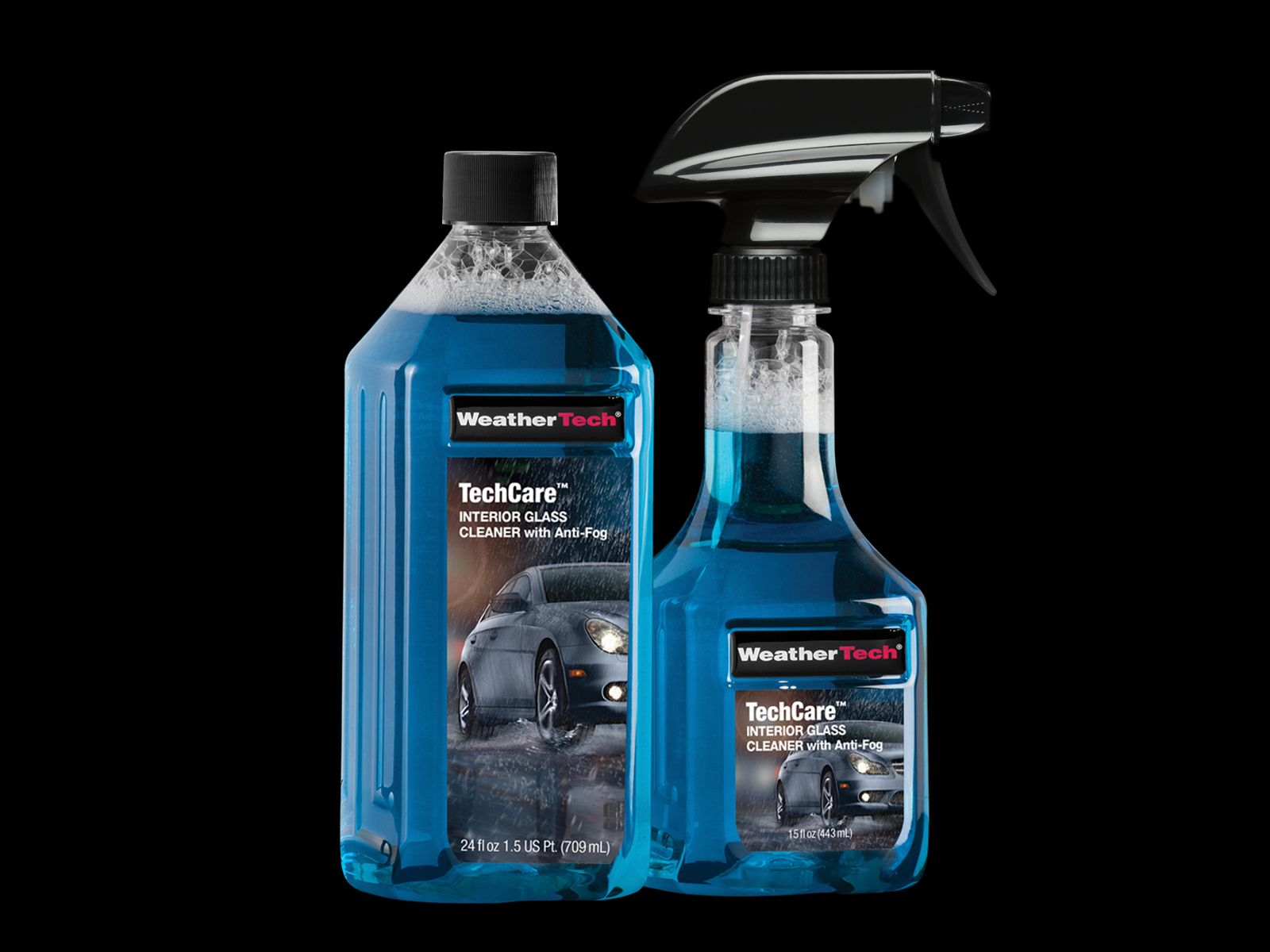 TechCare® Interior Glass Cleaner with Anti Fog Glass