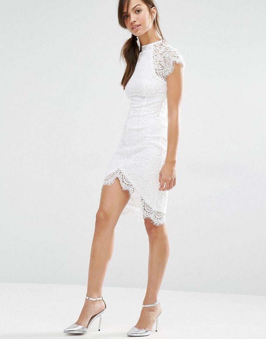 4ad1db4b9e2c Image 4 of Boohoo Boutique Eyelash Lace Bodycon Dress | dress