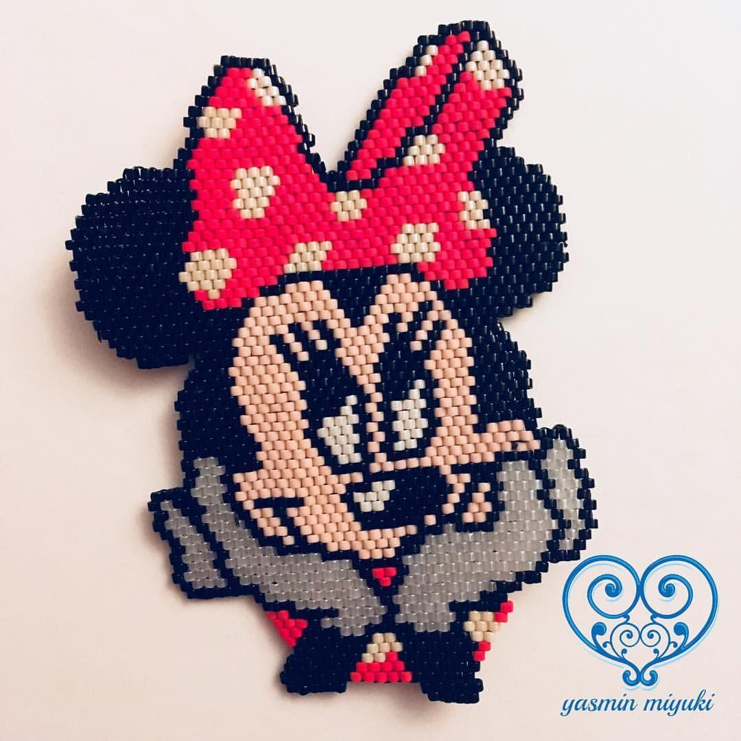 Daha fazlası için Instagram'da Yasmin Miyuki (@yasmin_miyuki): Minik dostumuz Minnie Mouse  Designed by #yasminmiyuki #minniemouse