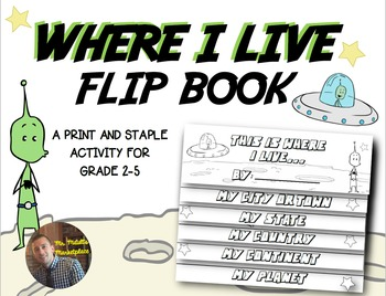 Where I Live Flip Book A Social Studies Map Skills Activi We use how many for questions using countable or plural objects for example: where i live flip book a social