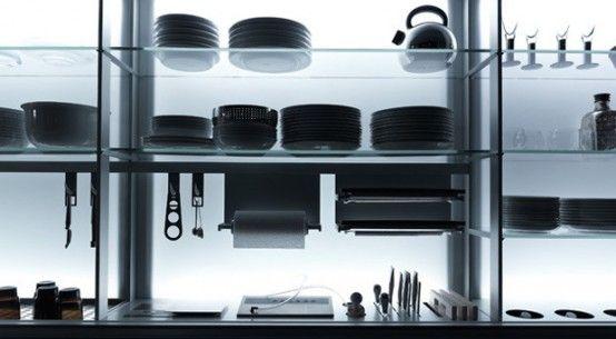 Extremely Ergonomic Kitchen Design – New Logica by Valcucine ...