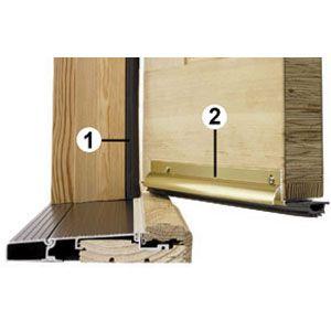 Quick And Easy Weathersealing Doors Teas And Door Frame Repair