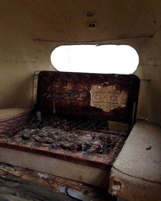Weeble's rough interior