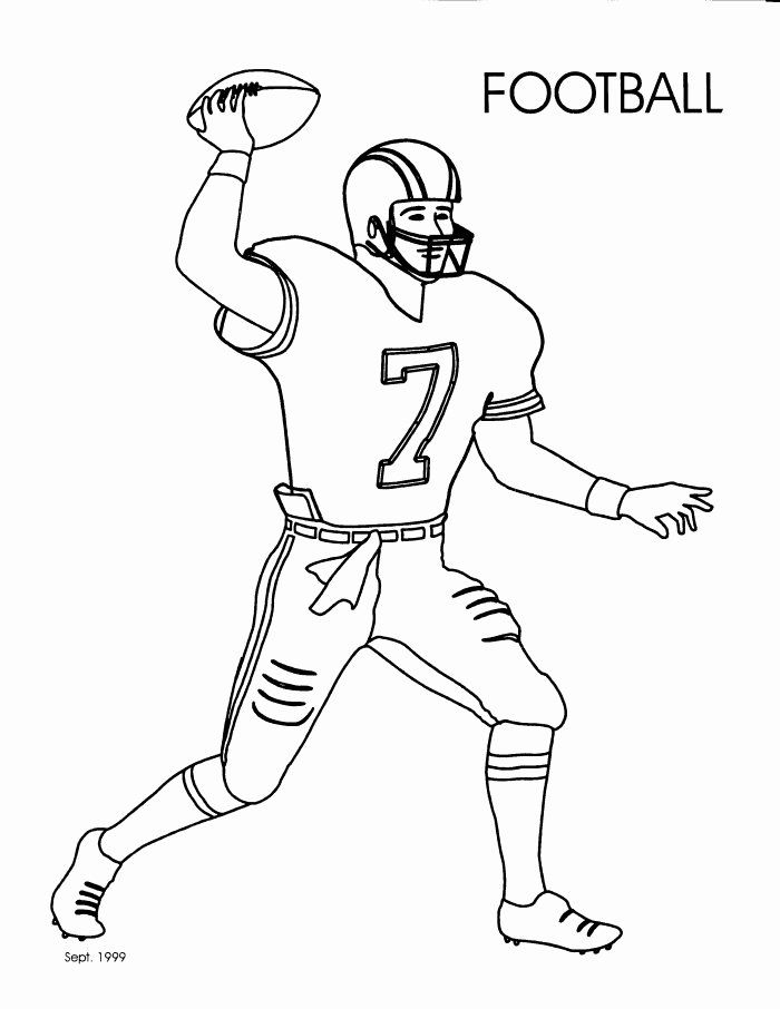 Football Player Coloring Page Best Of Recreation Coloring Sheets Janice S Daycare Football Coloring Pages Sports Coloring Pages Coloring Pages For Kids