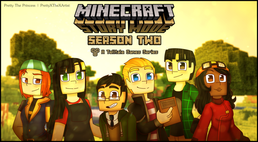 Minecraft Story Mode Season Two By Prettyxthexartist