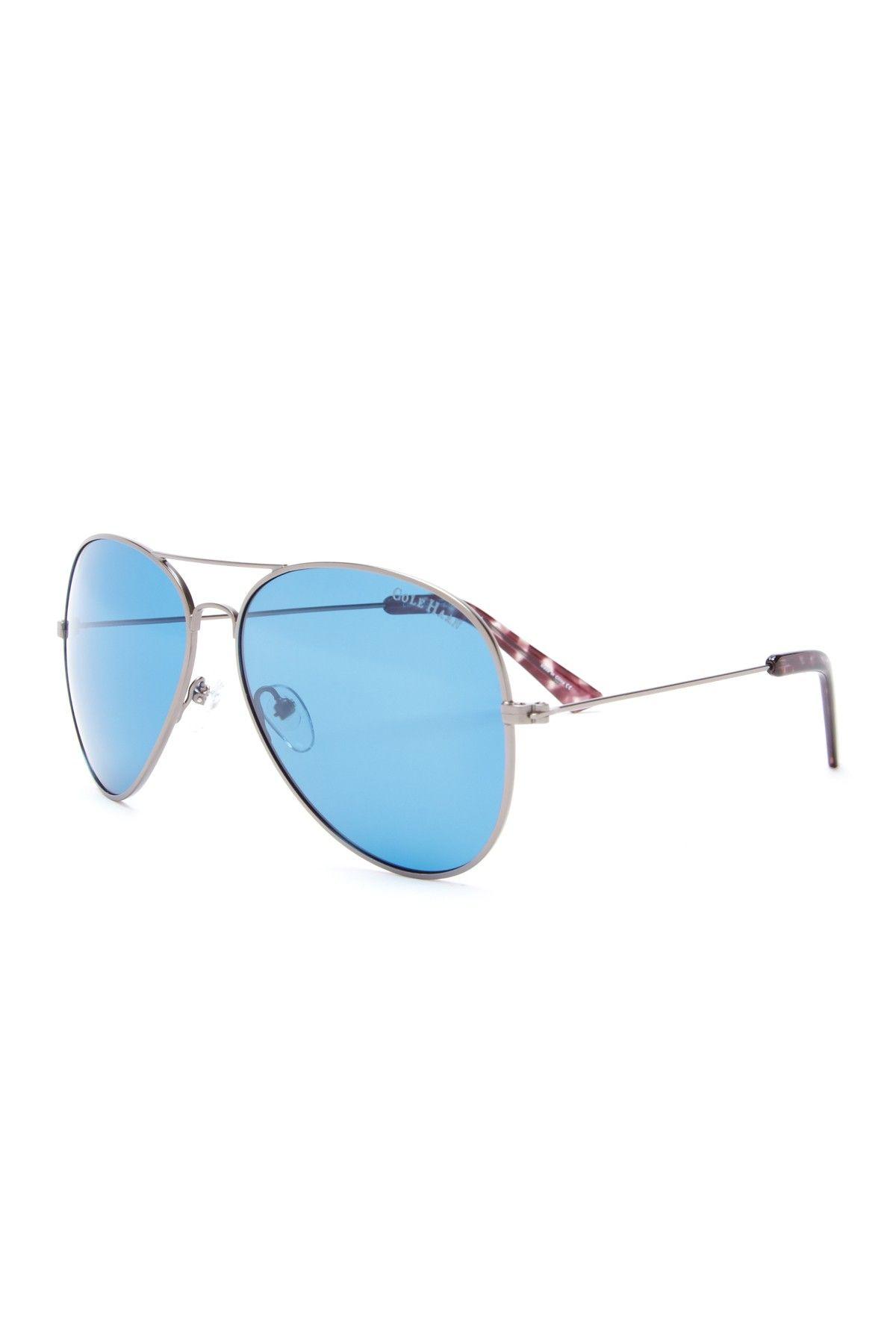 f4a61bcd2f858 Cole Haan Sunglasses Womens Metal Aviator Sunglasses  3