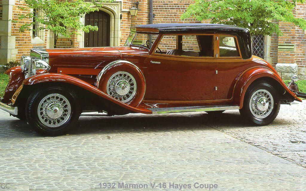 1932 marmon v 16 hayes coupe marmon motor car co for Hayes motor company trucks