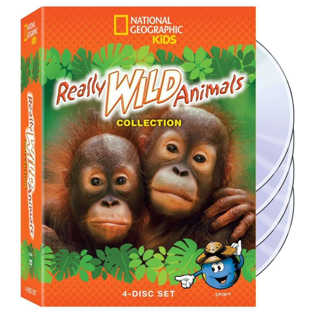 Really Wild Animals Collection 4DVD Set National