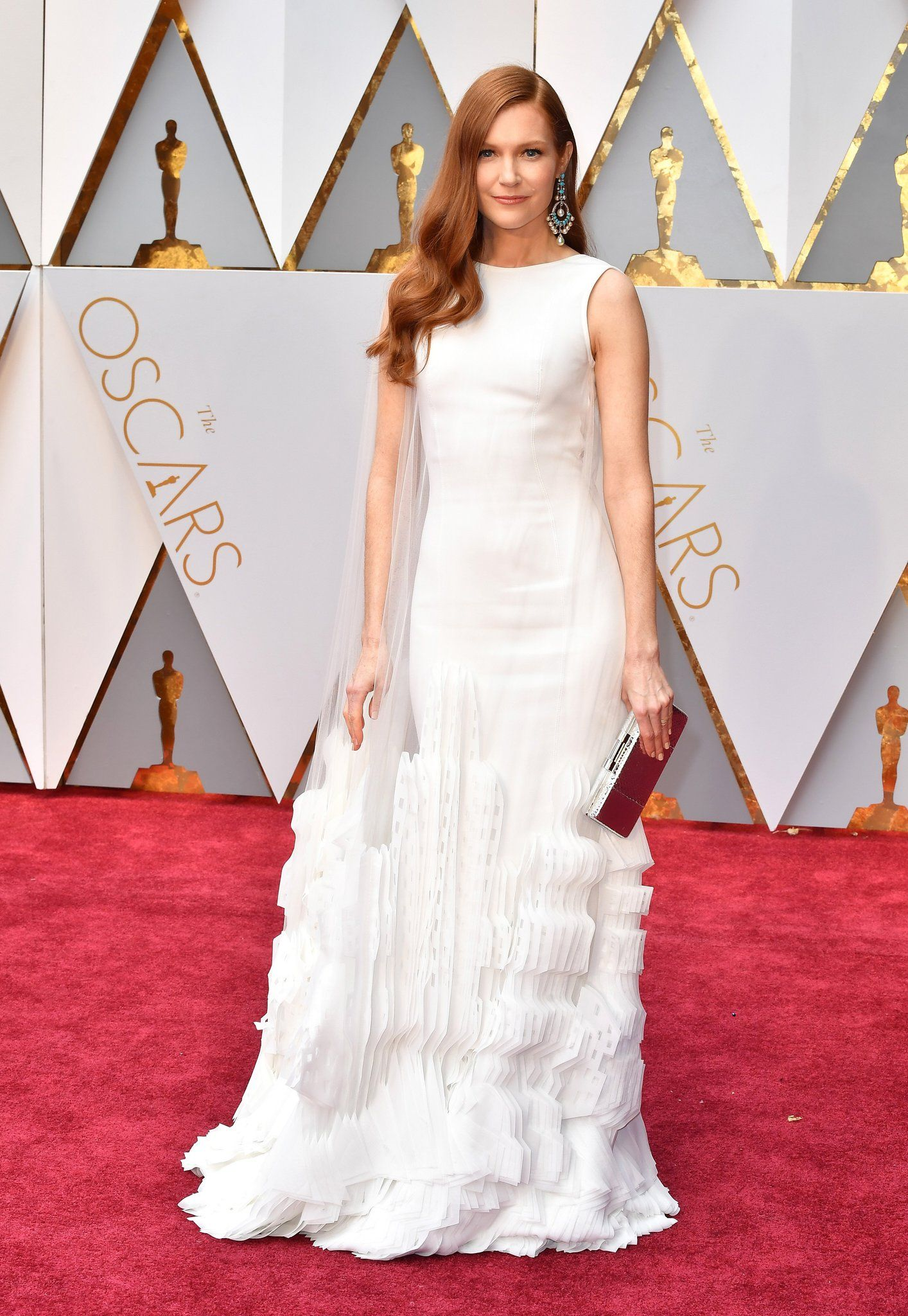 Darby Stanchfield Oscar 2017 Red Carpet Arrival Oscars Red Carpet Arrivals 2017 Oscars 2017 Photos 89th Academy Awards Red Carpet Oscars Award Show Dresses Oscars 2017 Red Carpet