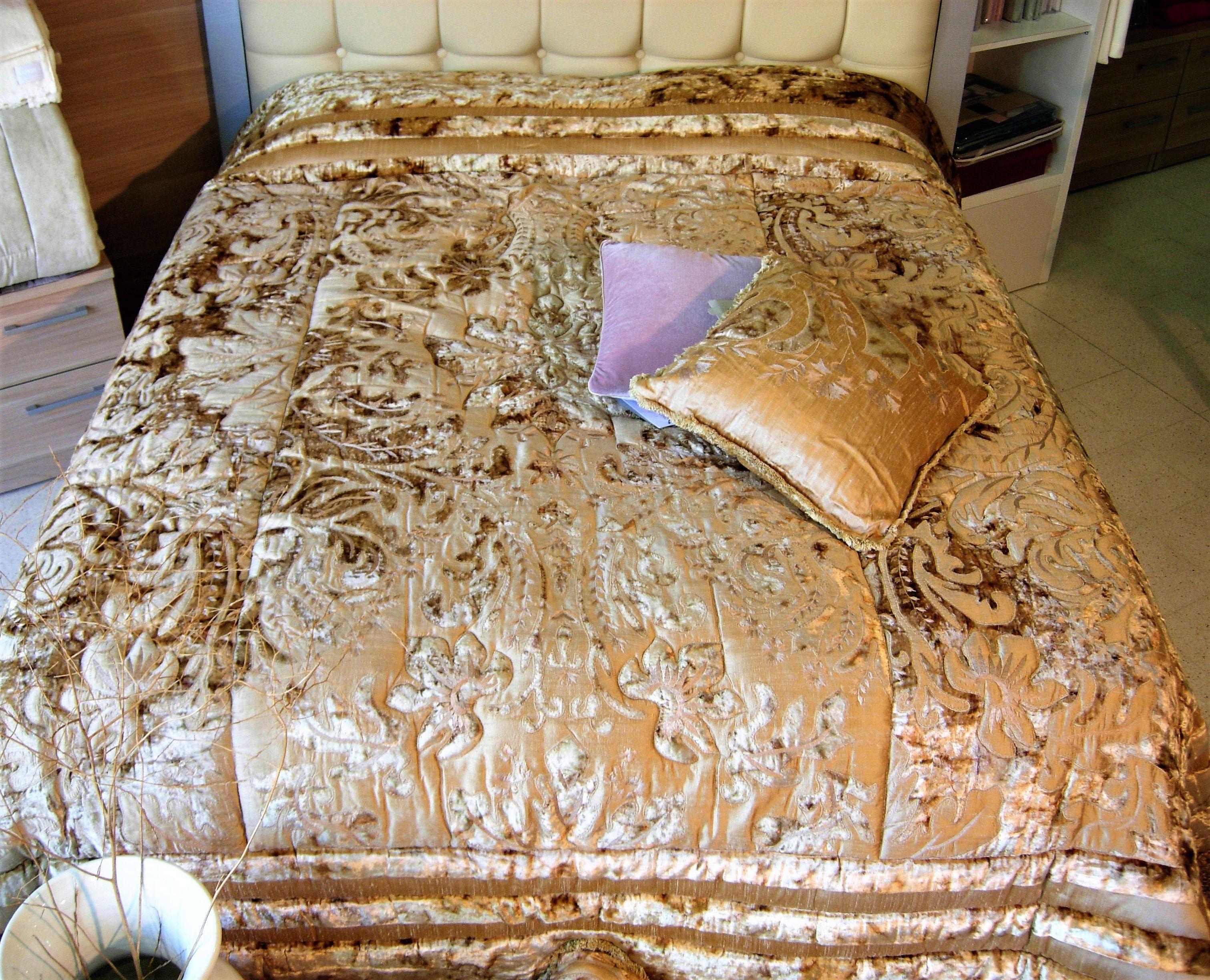 Mastro Raphael Piumoni Prezzi trapunta patchwork velluto damask mastro raphael