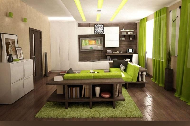 Relaxing Green Living Room Ideas ᴷᴬ