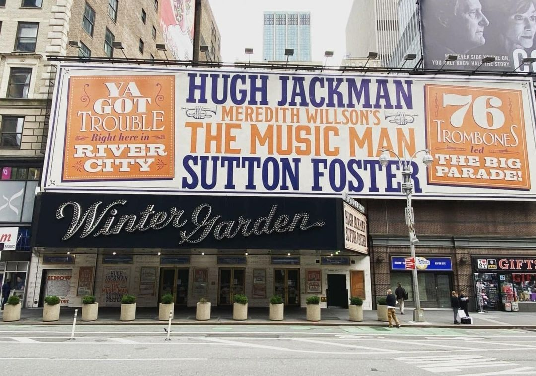Music Man Revival Starring Hugh Jackman And Sutton Foster Sutton Foster Hugh Jackman Jackman