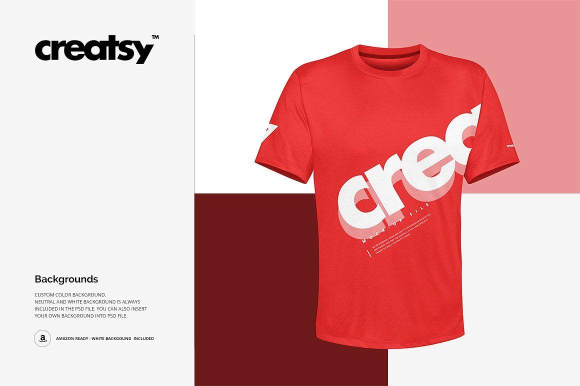 Download Polyester T Shirt Mockup Set Shirt Mockup Tshirt Mockup Shirt Template