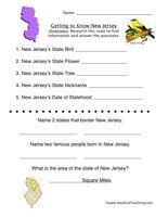 New Jersey Worksheet Social Studies Worksheets Have Fun
