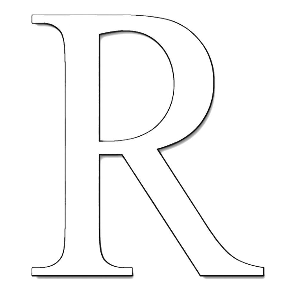 Lettera r da colorare stampa disegno di lettera r da for Stampa disegni da colorare