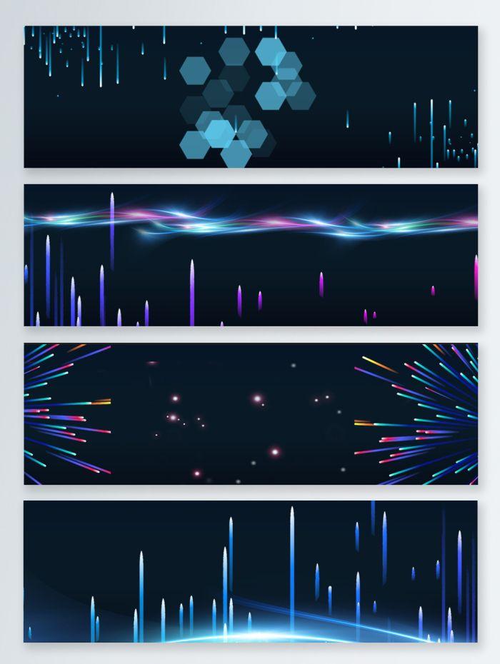 promotion,neon,fireworks,lights,color,lines,banner