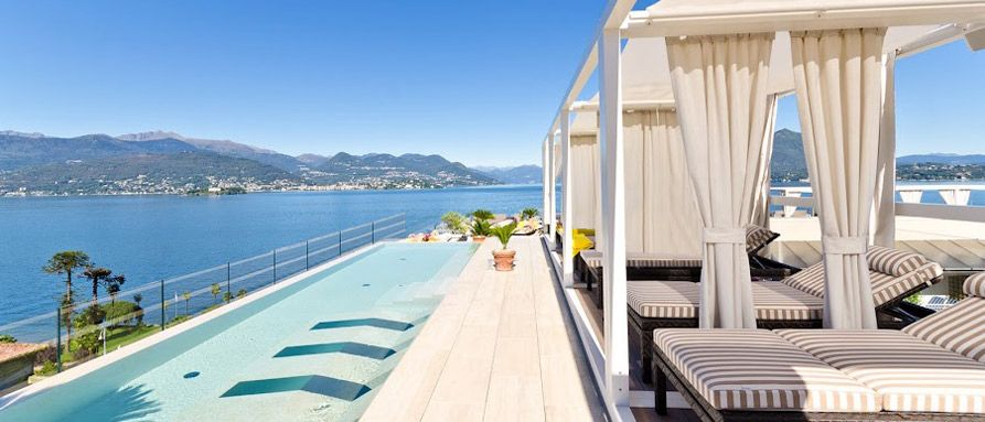 Hotel La Palma Stresa Lago Maggiore H Tels Italie