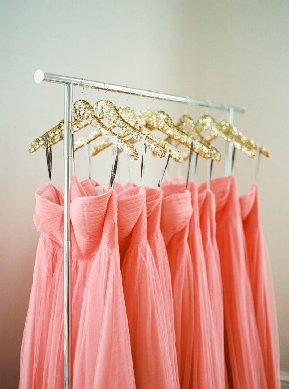 sequin hangers from Raleigh, NC wedding at Merrimon-Wynne | Wedding ...