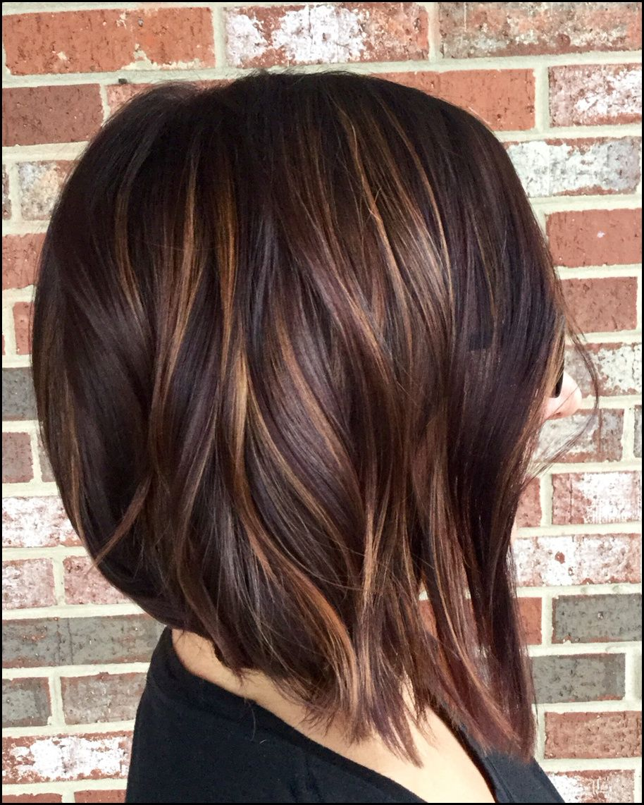 Highlights Dark Hair Hair Pinterest Frisur Haar Ideen Und Haar Meine Frisuren Hair Styles Short Hair Styles New Short Hairstyles