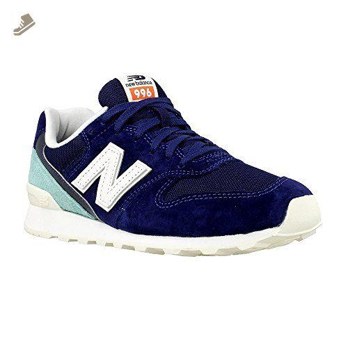 New Balance Wr996 Womens Trainers Dark Blue - 3 UK - New ...