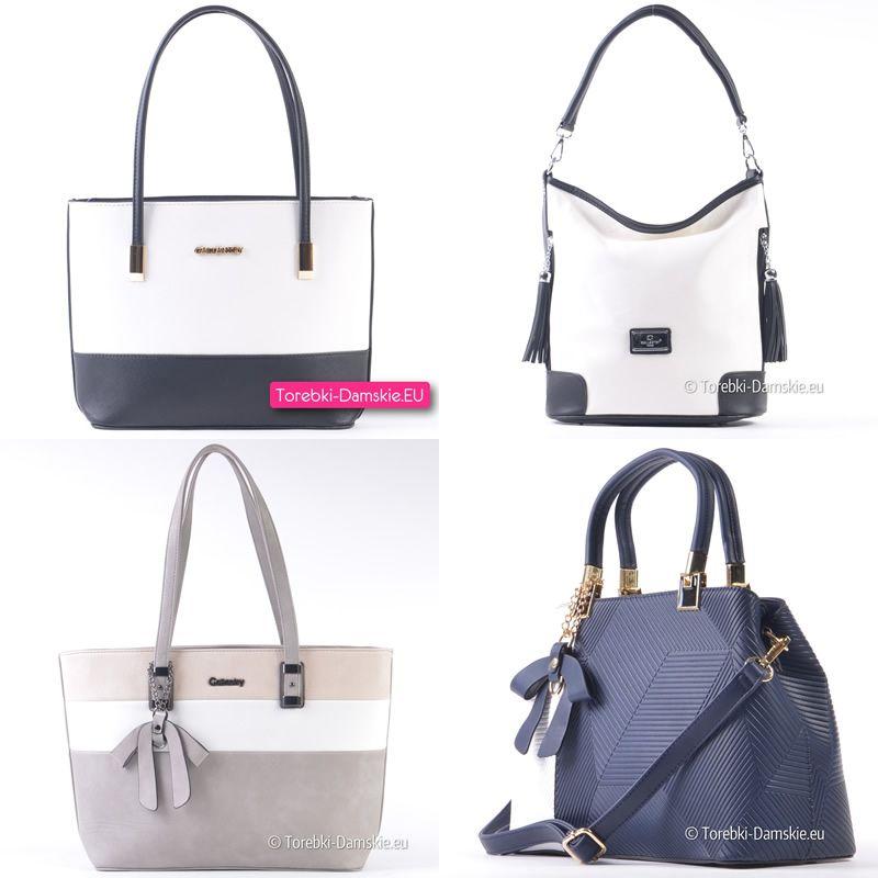 a2f57989102ac Białe torebki damskie i modele z białymi elementami - zobacz wszystkie  propozycje na ten sezon pod