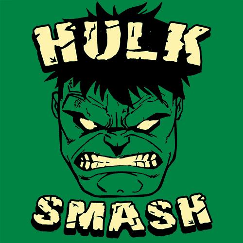 Hulk Smash Funny T Shirt Super Hero Shirts Textual Tees Hulk Smash Funny Hulk Smash Hulk