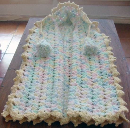 Free Pattern Crocheted Baby Snuggle The Snarled Skein