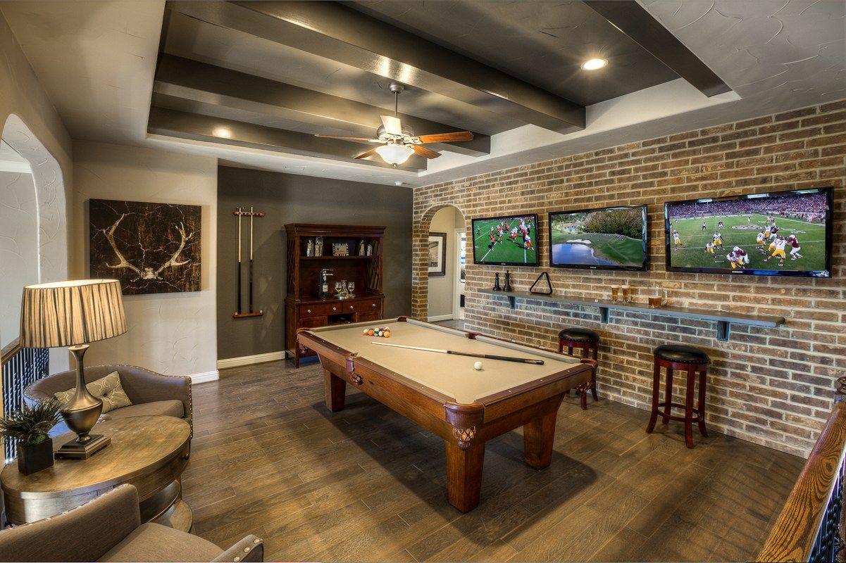Brick Wall Gaming Room Novocom Top
