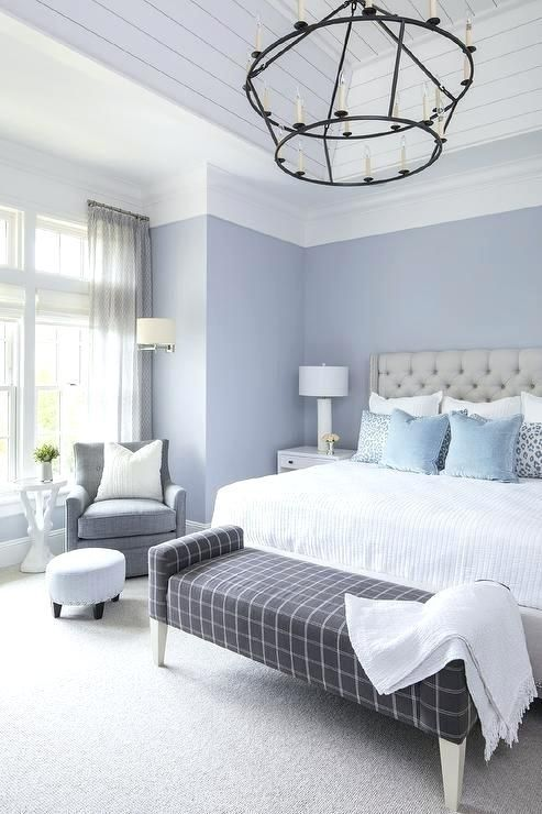 25+ Most Beautiful Soft Blue Bedroom Ideas With Cozy