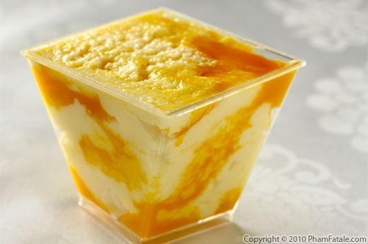 FHE: LightMango Cream Cheese Mousse: A Beautiful, Light Dessert (both In  Color