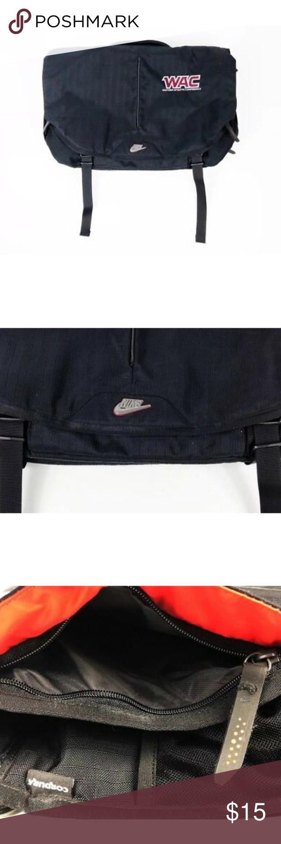 NIKE Crossbody Bag Shoulder Messenger Tote Laptop • Brand  Nike • Style  Cordura  Nylon c7742ca10759a
