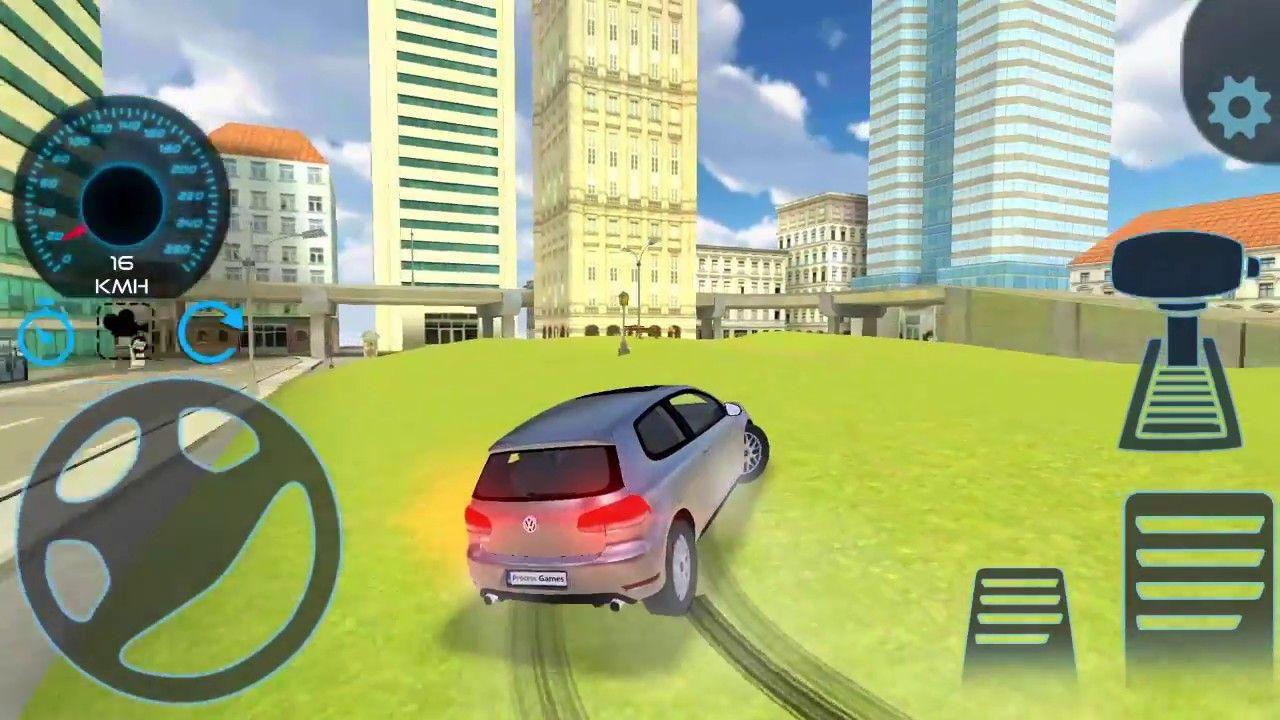 Direksiyonlu Araba Surme Oyun Araba Oyunlar