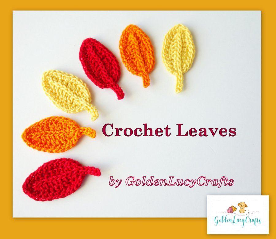 Crochet Leaf Pattern Fall Pinterest Crochet Leaf Patterns