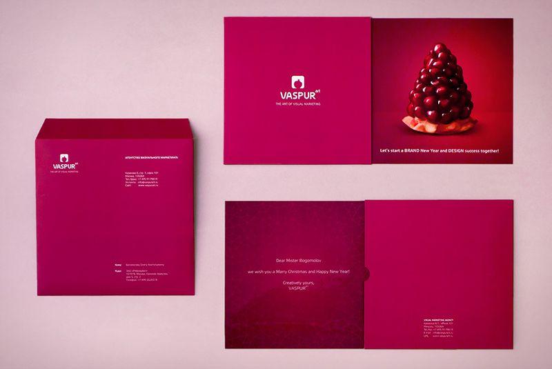 Imago Advertising Agency: Christmas card | Design | Pinterest