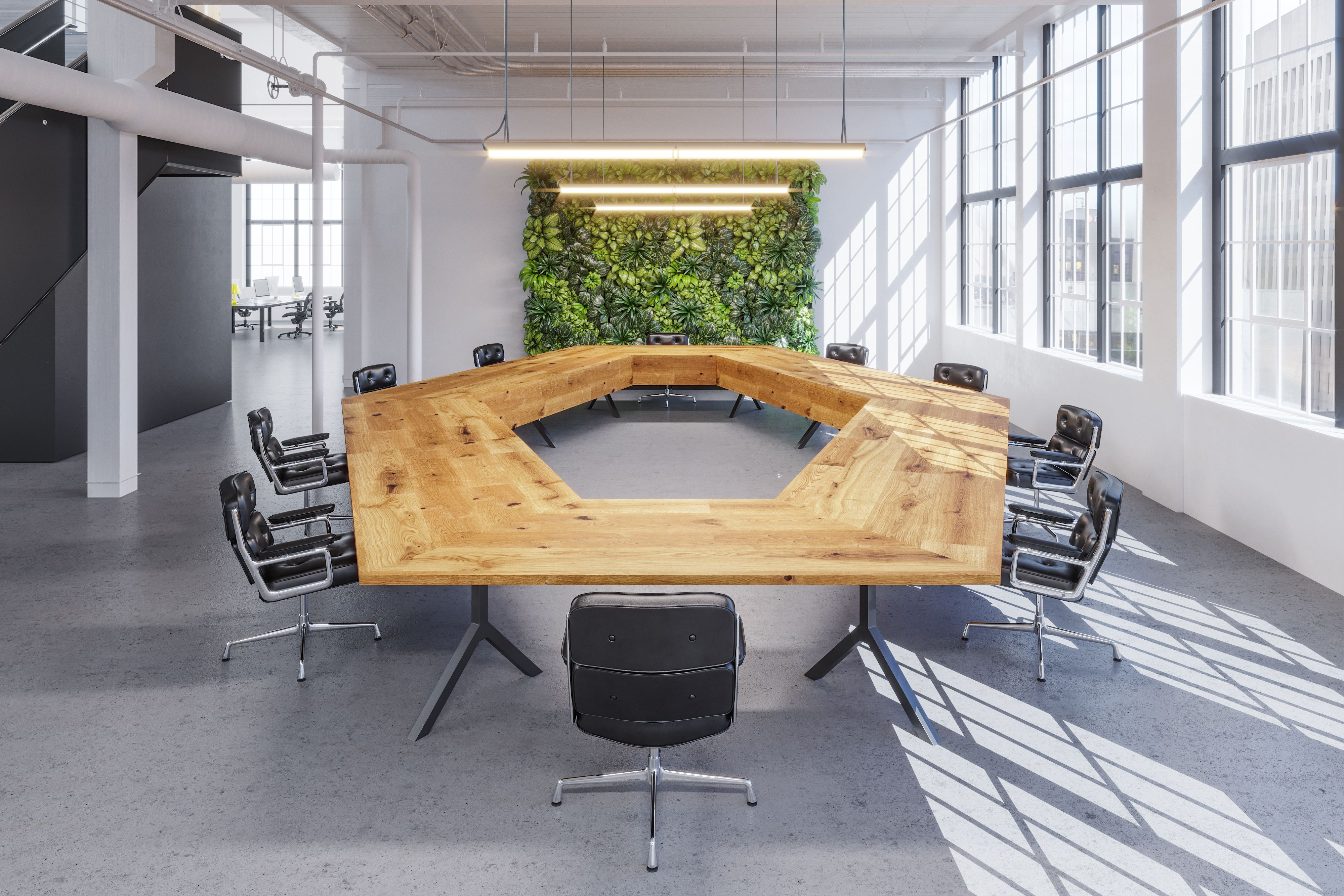 Union Wood Co. Conference tables  Boardroom table, Commercial