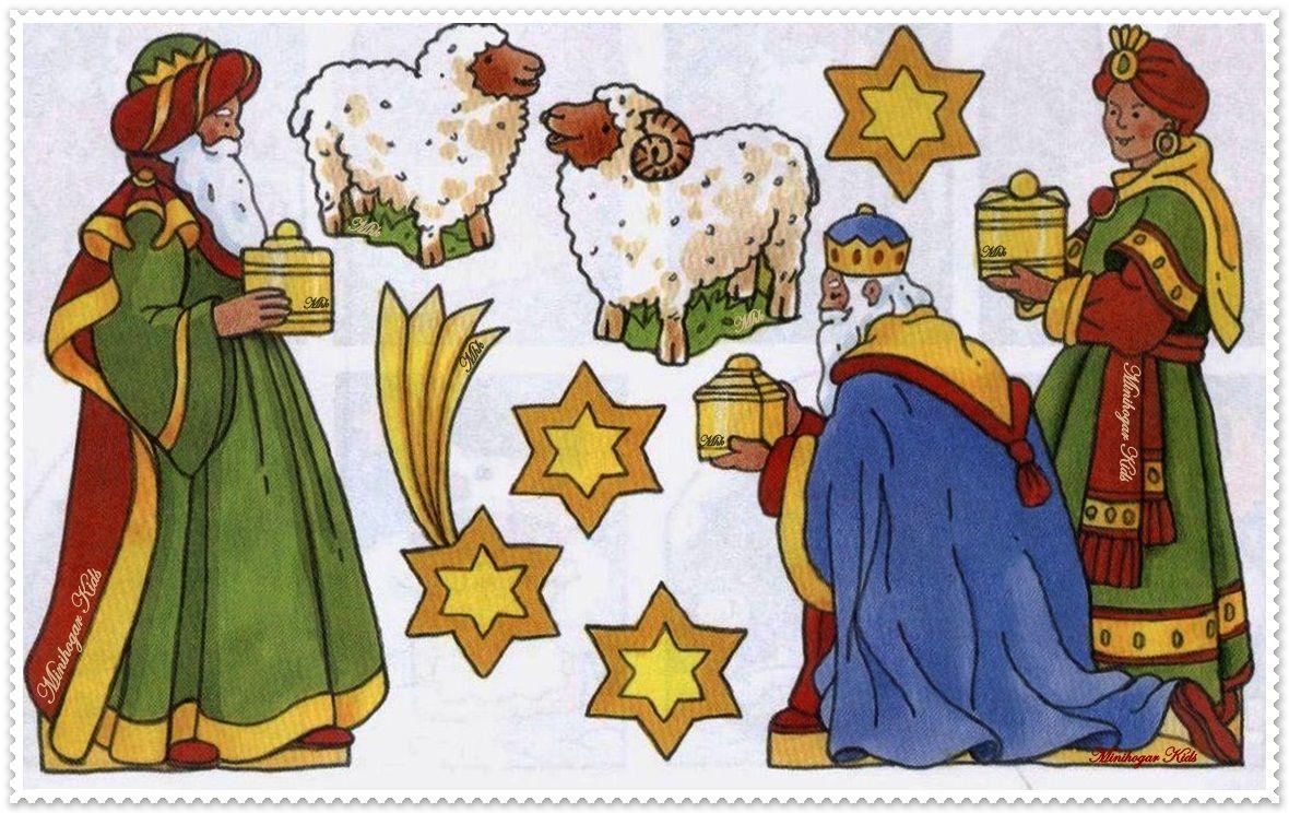рождественский вертеп картинки для печати первую очередь