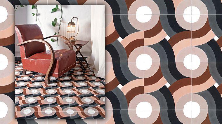 carreaux del sur amenagement geometric tiles 1930s. Black Bedroom Furniture Sets. Home Design Ideas