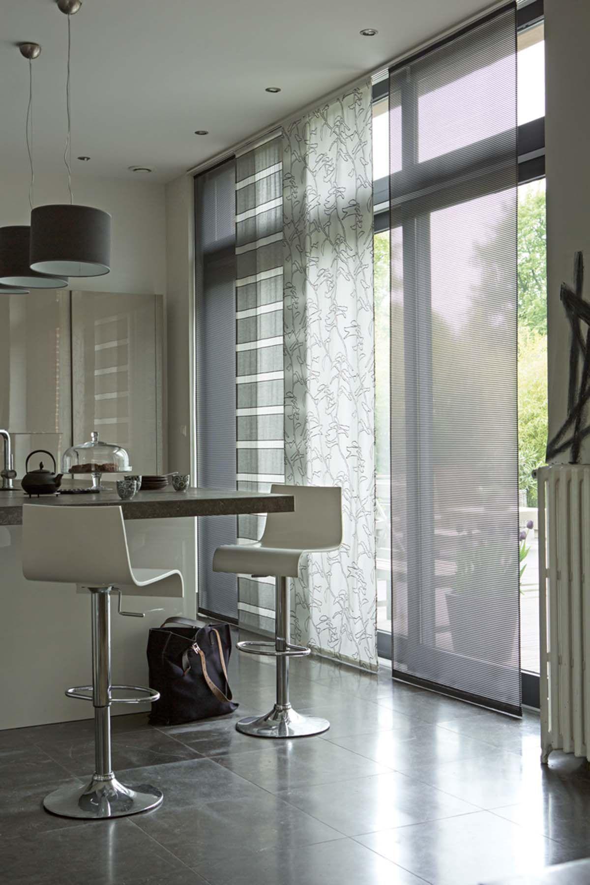 trois mod les de panneaux japonais ombrage pueblo et liege curtains pinterest panneau. Black Bedroom Furniture Sets. Home Design Ideas