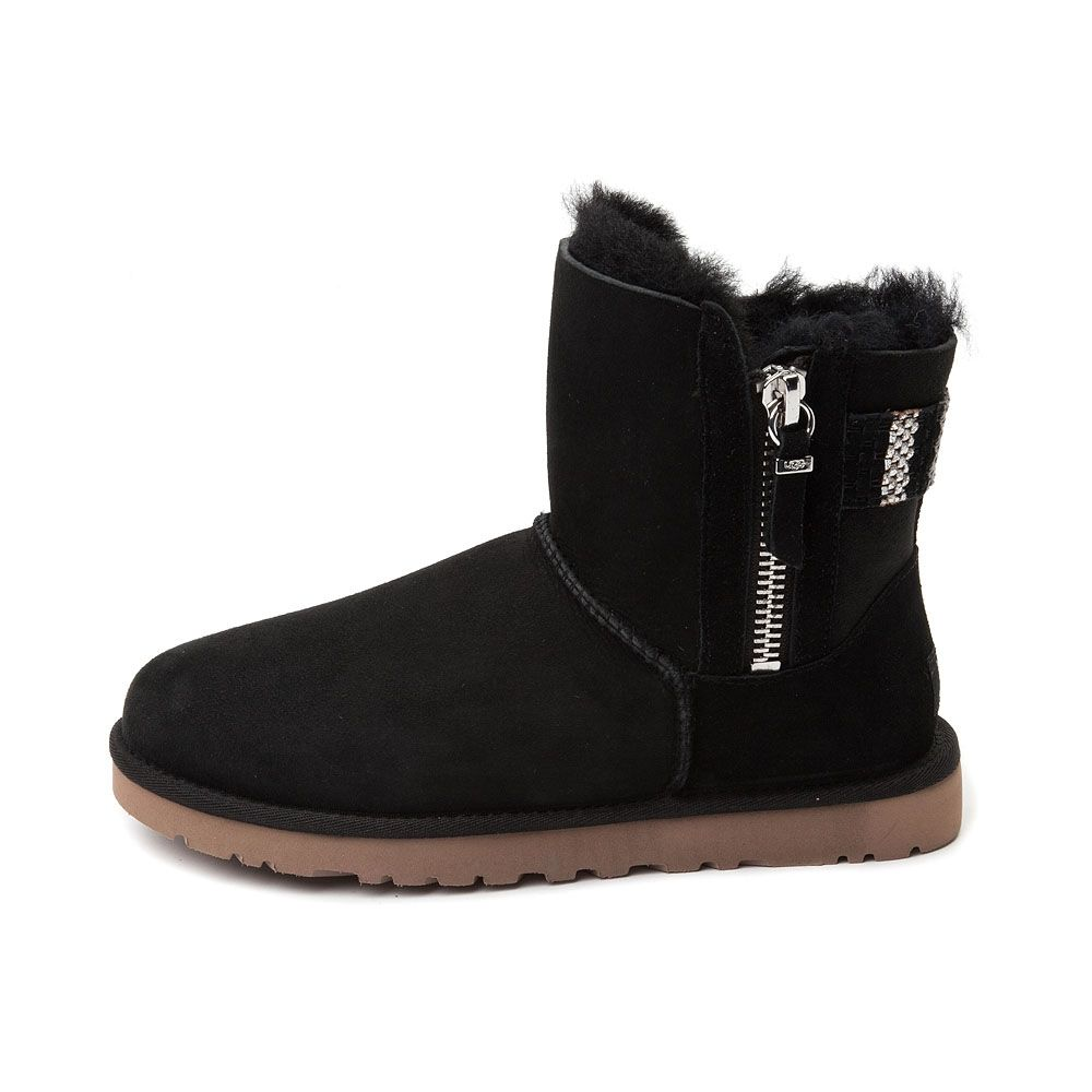 Womens UGG® Aztec Woven Mini Boot