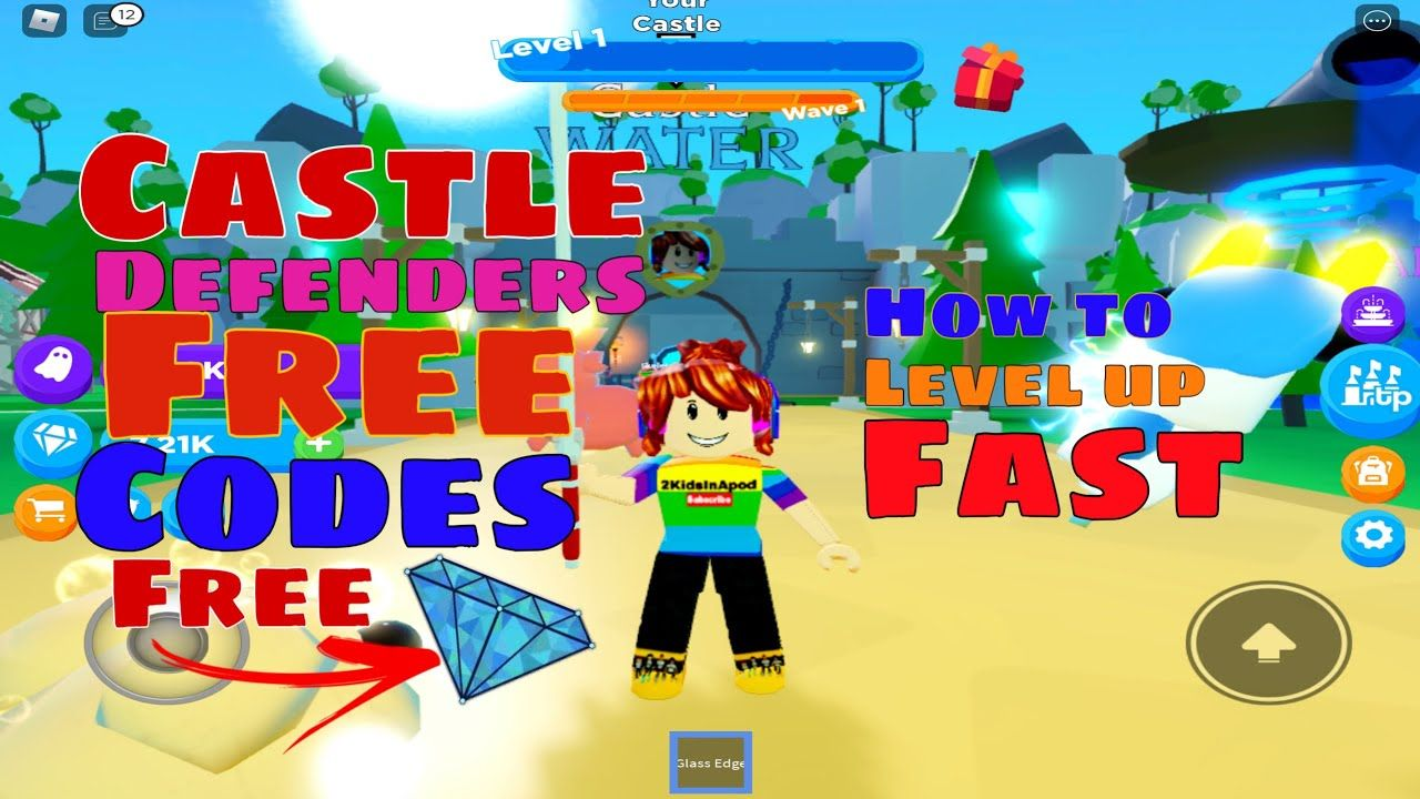 All Working Free Codes Castle Defenders By Celestial Dev Gameplay H In 2020 Coding Roblox Level Up
